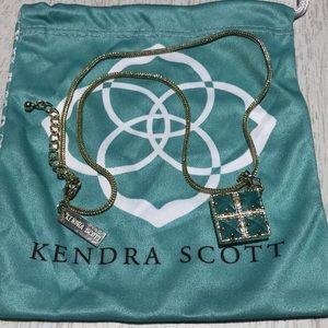 Authentic Kendra Scott Quatrefoil Pendant Necklace